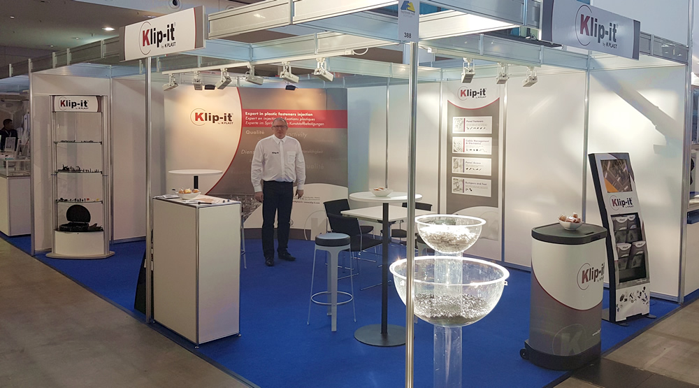 The K Plast team was present from 19 to 21 March 2019 at Fastener Fair 2019 - Stuttgart, Messe Stuttgart - Germany